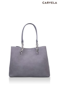 Carvela Grey Cammie Slouch Tote Bag
