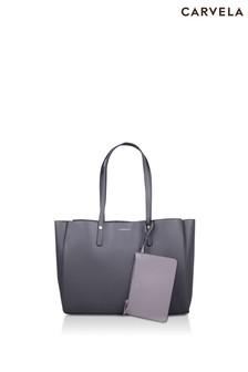 Carvela Grey Freya Triple Compartment Bag