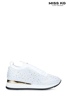 Miss KG White Katy Trainers
