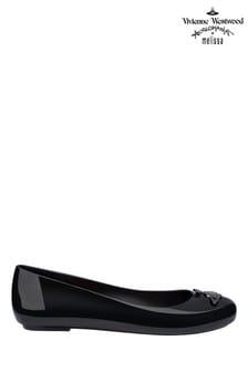 Vivienne Westwood Mini Melissa Black Space Love Shoes