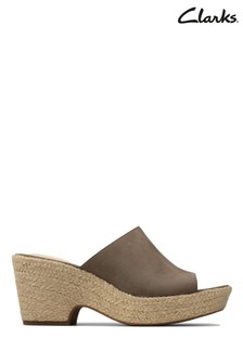 Clarks Sage Nubuck Maritsa Mule Sandals