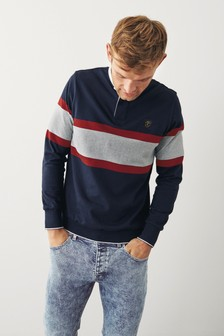 Navy Rugby Polo Shirt
