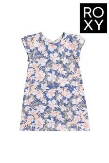 Roxy Blue Girl Happy Now Beach Dress