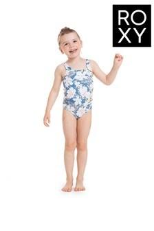 Roxy Blue Swim Lovers One Piece Swimsuit