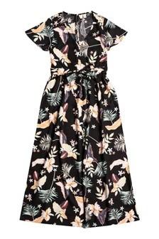 Roxy Grey A Night To Remember Short Sleeve Dress