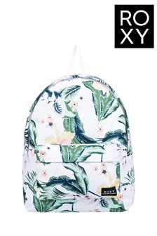Roxy White Sugar Baby 16L Small Backpack