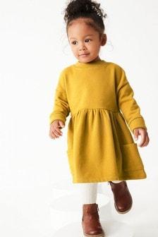 Ochre Cosy Sweater Dress (3mths-7yrs)