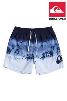 "Quiksilver Blue Thunderhead 15"" Swim Shorts"