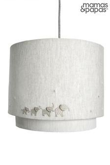 Mamas & Papas Grey Welcome to the World Elephant Lampshade