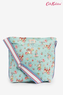 Cath Kidston Green Peter Rabbit Ditsy Zipped Bag