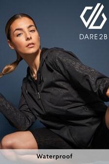 Dare 2B Black You're A Gem Waterproof Jacket