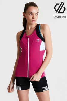 Dare 2B Pink Regale Full Zip Cycling Vest