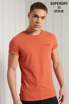 Superdry Organic Cotton Vintage Logo Embroidered T-Shirt