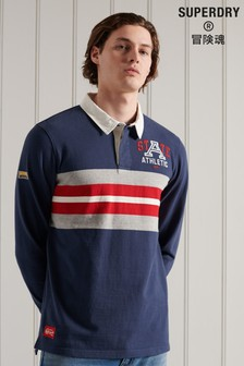 Superdry Long Sleeve Jersey Rugby Shirt