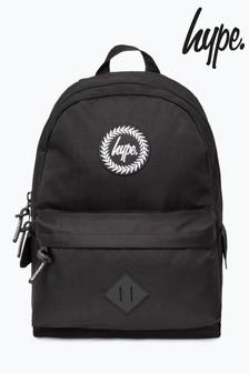 Hype. Black Midi Backpack