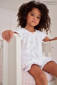 The White Company Starfish Print Shortie Pyjamas