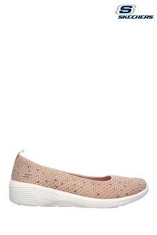 Skechers Pink Arya Sweet Glitz Sport Shoes