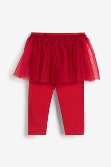 Red Tutu Leggings (3mths-7yrs)