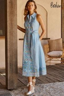 Boden Kate Linen Shirt Dress