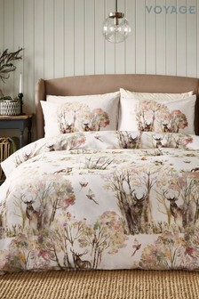 Voyage Sepia Winter Wilderness Duvet Cover And Pillowcase Set