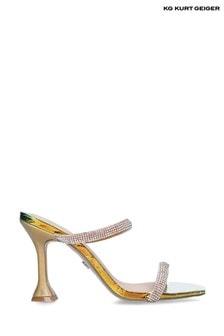 Kurt Geiger Chrome Foster Sandals