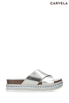 Carvela Gold Bake Sandals