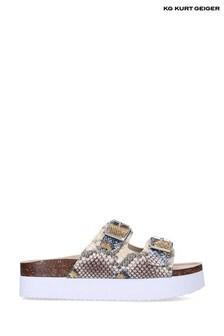 Kurt Geiger Cream Ruse Sandals