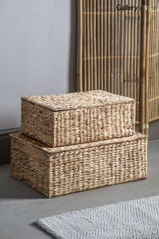 Set of 2 Gallery Direct Mindi Natural Baskets