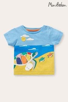 Boden Blue Lift-The-Flap T-Shirt