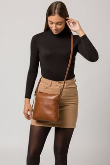 Conkca Nikita Leather Cross Body Bag