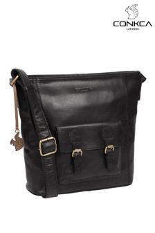 Conkca Robyn Leather Shoulder Bag