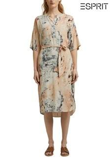 Esprit Women Midi Print Dress