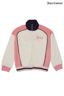 Juicy Couture Micro Terry Track Jacket