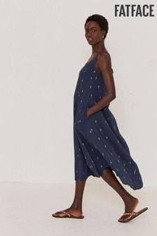 FatFace Luna Foil Geo Dress