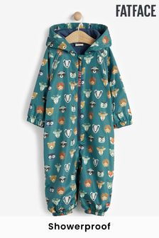 FatFace Printed Showerproof Puddlesuit