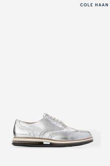 Cole Haan Silver Originalgrand Gel Oxford Shoes
