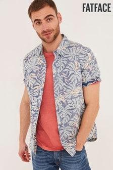 FatFace Palm Reverse Shirt