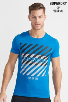 Superdry Sport Training Coresport Graphic T-Shirt