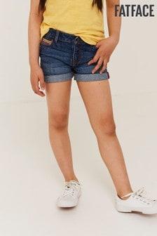 FatFace Rainbow Denim Shorts