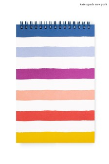 kate spade new york Candy Stripe Top Spiral Notebook