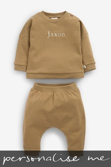 Personalised Crew And Joggers Set