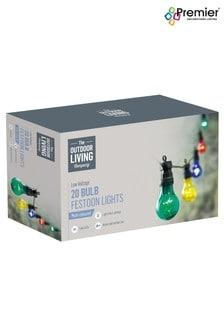 Premier Decorations Ltd 20 Bulb Party Lights