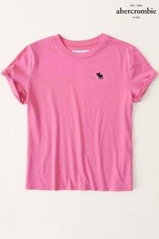 Abercrombie & Fitch Short Sleeve Basic T-Shirt