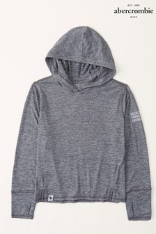 Abercrombie & Fitch Active Long Sleeve Hooded T-Shirt