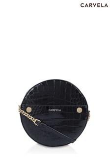 Carvela Black Jessica Circle Cross Body Bag