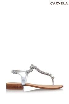 Carvela Chrome Bebe 2 Sandals