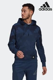 adidas Sportswear Allover Print Hoodie Sweatshirt