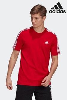 adidas Essentials 3 Stripes T-Shirt
