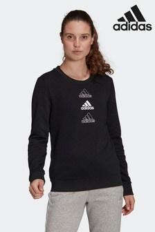 adidas Essentials Stacked Logo Sweatshirt