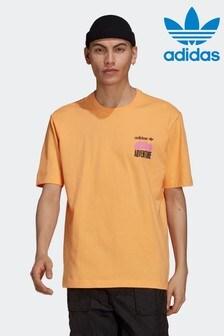 adidas Adventure Mountain Back Print T-Shirt